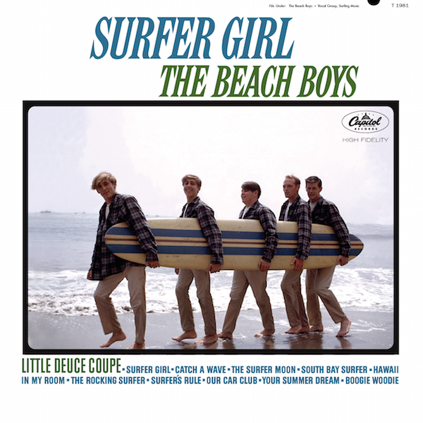 The Beach Boys The First Five Analogue Productions Reissues