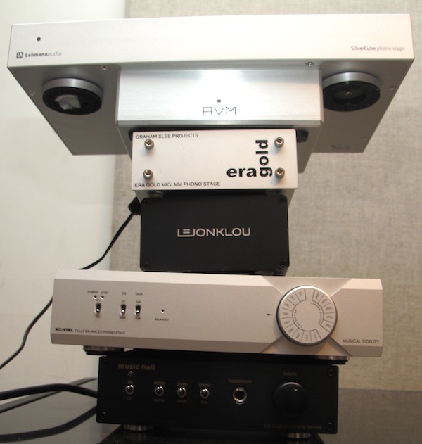 Eight Phono Preamplifiers Compared (Though Not Yet For Sound)