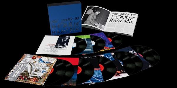 VMP Announces 11 LP The Story of Herbie Hancock Anthology Box Set