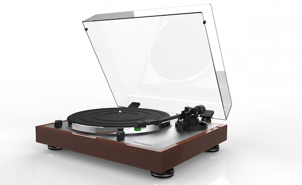 The Thorens TD402 DD Direct Drive Semi-Automatic Turntable