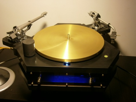 The Audio Silente Idler Drive Turntable Intrigued