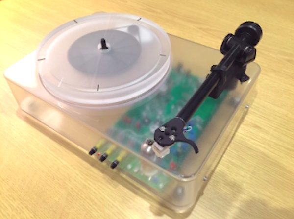 Gearbox Develops Kickstarter Funded Innovative Turntable