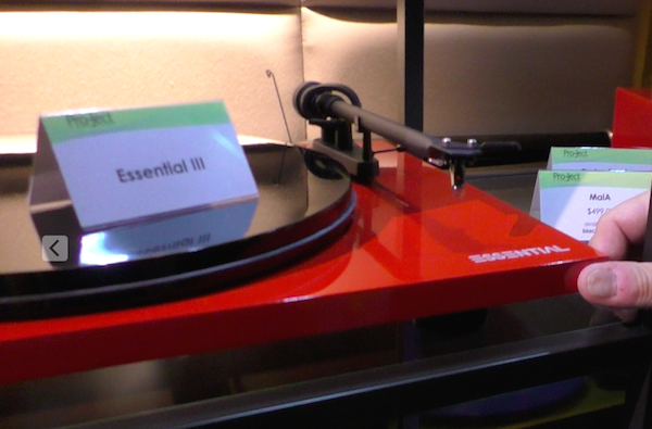 At CES 2017 Pro-Ject Introduced Many New Turntables and Phono Pre-Amps