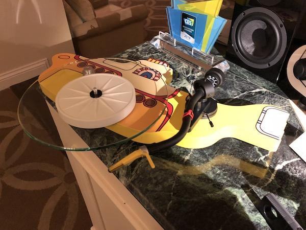 At CES 2018 Pro-Ject Announces New Apple Corps. Licensed Yellow Submarine Turntable