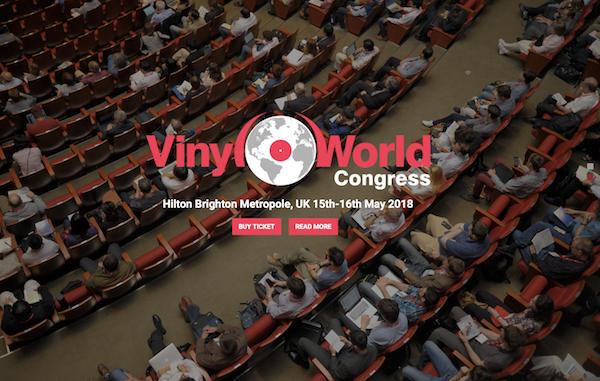Vinyl World Congress, Brighton Metropole, UK May 15th and 16th
