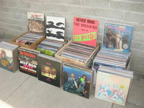 500 Rock Records $500 Riverside CA
