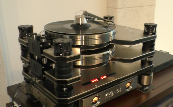 Kronos Adds D C  Accumulator Power Option For Pro Turntable | Analog