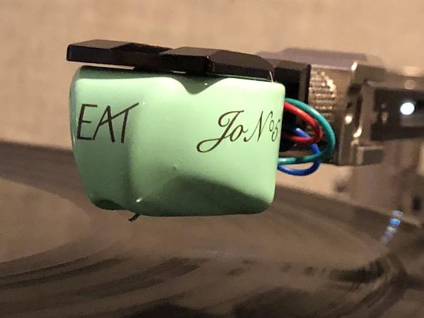 Looks Good Enough to E.A.T. JO Nº 5 Moving Coil Cartridge