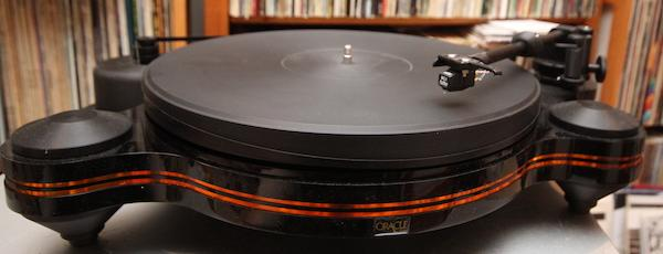 Oracle Audio Swings For the Middle Deck With the Origine MkII Turntable