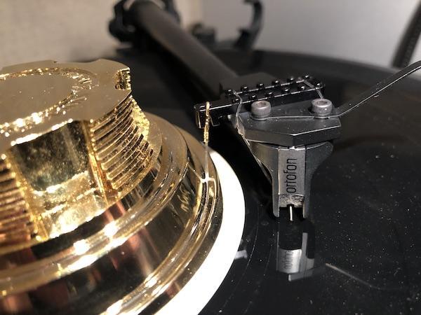 Mind-Pop Revolution's Presslift Record Stabilizer/Tonearm Lifter