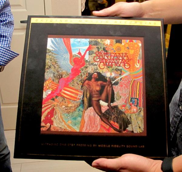"Mobile Fidelity Introduces ""One Step"" Abraxas"