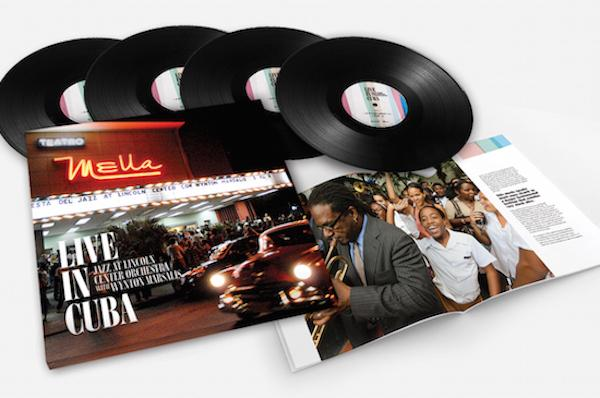 """Jazz at Lincoln Center To Release 4 LP Vinyl Box Set """"Live in Cuba"""""""