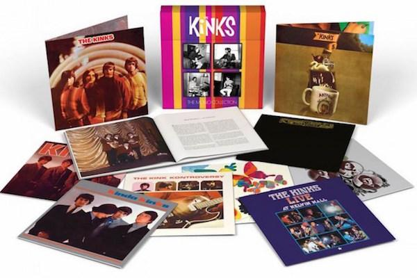 Ten LP Kinks Mono Box Cut by Kevin Gray From Original Analog Masters