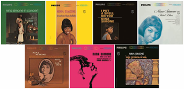 Verve/UMe Releases Individually Nina Simone Philips era Vinyl Box Set Albums