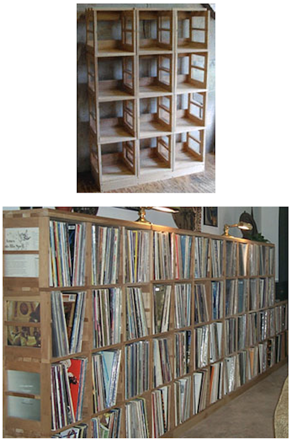 Record Racks From Tony