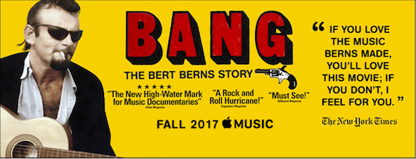 """Bang, The Bert Berns Story"" Documentary Coming to Apple Music October 24th"