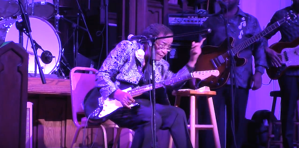 """Beverly """"Guitar"""" Watkins R.I.P. October 1st, Played At Last Year's """"Blues at the Crossroads"""""""