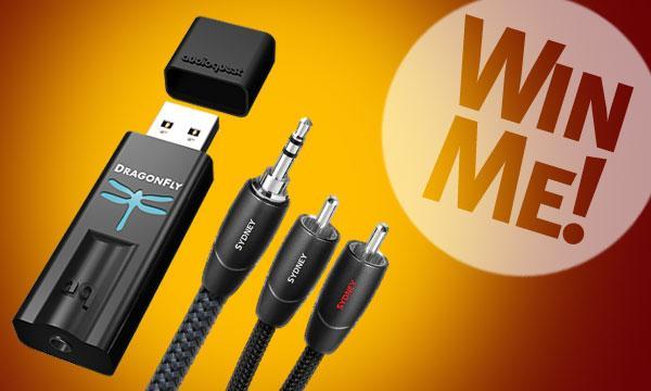 AudioQuest DragonFly USB Digital-Audio Converter and Sydney