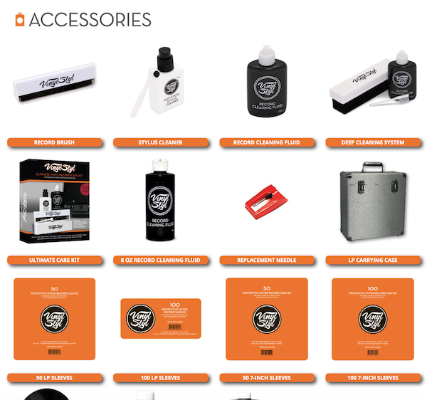 New Line Of Record Care Accessories From Vinyl Styl