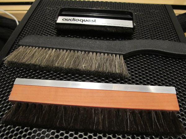 The Big Brush Off Three Dry Record Brushes Compared Analog Planet