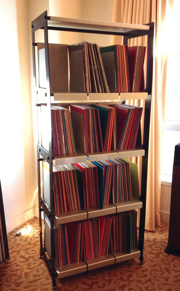 Delicieux WAX RAX Adds Vertical Model LP V4 To Its Record Storage Catalog