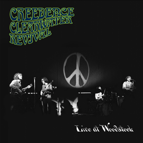 Creedence Clearwater Revival Live at Woodstock 50 Years Later on 2 LPs