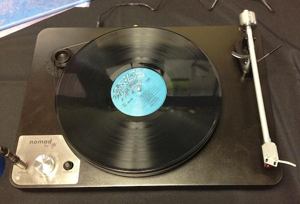 VPI Demos Nomad Headphone-Centric Turntable at