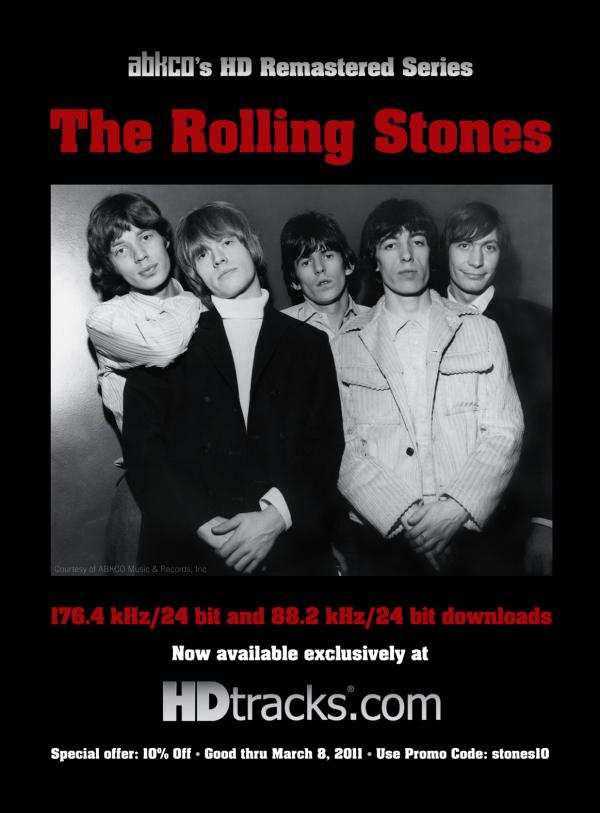 HDTracks Gets Rolling Stones Catalog In High Resolution