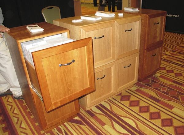 Richland Wa Based Woodworking Solutions Introduced At Rmaf Its Record Phile Lp Storage Cabinets These Solidly Constructed Units Feature Pull Out File